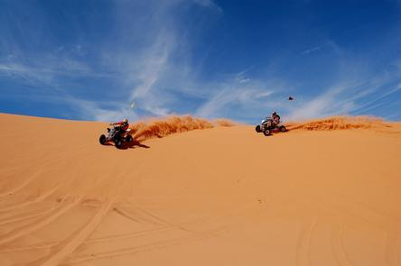 Riding the Dunes of Sand HollowThe park offers ATV riders more than 6,000 acres of sand dunes that have open riding as well as technical trails where you can test your skills.