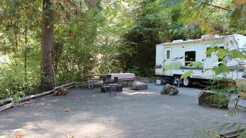 Cavitt Creek Camp Site