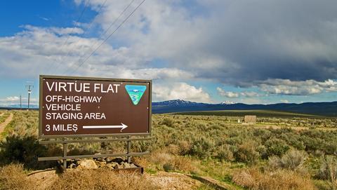 Virtue Flat OHV Area