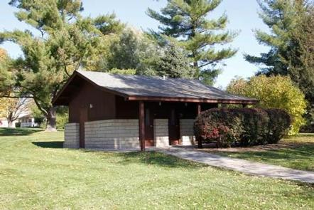 Herbert Hoover National Historic Site Picnic Shelters