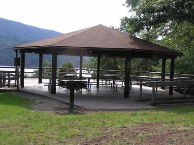 Seven Points Picnic Shelters