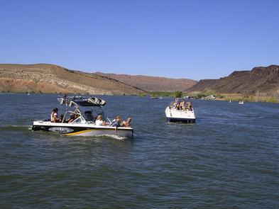 """Boating DixieSouthwestern Utah is part of Utah's """"Dixie,"""" the warm- weather, southernmost and lowest-elevation retreat of the state."""