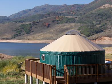 Yurt CampingVisitors can reserve campsites, both developed and primitive, and yurts, cabins or group sites at the state park