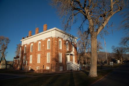 The Stately Territorial StatehouseThe museum building was originally ordered to be built by Brigham Young to serve as Utah's capitol building in the newly appointed U.S. territory.