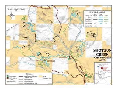 Shotgun Creek OHV - Map