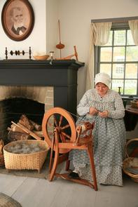 Utah Pioneer LifeTry your hand at some old-fashioned pioneer chores, or at spinning and carding wool.