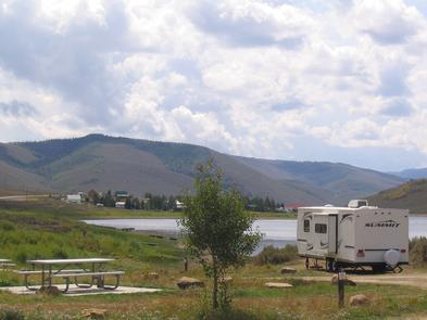 RV Camping at ScofieldReserve one of three-dozen partial hookup sites, more than 30 standard sites, 2 teepees or a cabin.