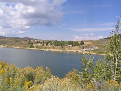 Boat Ramp Scofield Reservoir