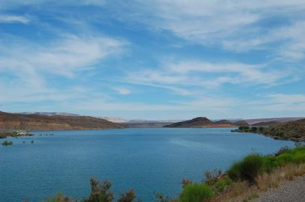 Quail Creek ReservoirSpend a day on the water or visit a nearby state or national park, then retire to a campsite in a spectacular red rock desert setting.