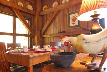 Enjoy organic farm-to-table fine diningWhat Mast Farm Inn offers is gourmet slow dining of extreme quality and freshness; a meticulous cuisine prepared with mindfulness, aware of the mountain region's heritage, and showcasing the high quality of the natural ingredients, with a level of care and personal service second to none.