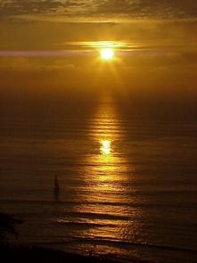 Sunset at Cabrillo