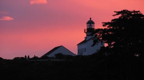Dusk at the Old Point Loma LighthouseDusk over the Old Point Loma Lighthouse