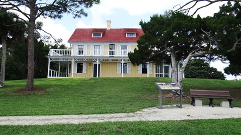 Seminole RestJust one of the views available to park visitors who visit to Canaveral's historic Seminole Rest site.