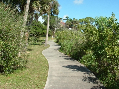 Trail at Seminole RestVisit Seminole Rest to discover that Canaveral National Seashore has much more to offer than just a fun day at the beach...