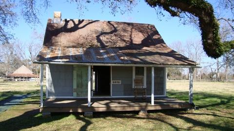 Slave/Tenant quartersOne of two existing Slave /Tenant quarters at Oakland Plantation.