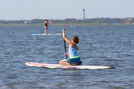 Paddling Pamlico SoundLots of recreation opportunities await visits on the sound side of the barrier islands.