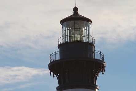 Fresnel LensBodie Island Lighthouse still has its first-order Fresnel lens.
