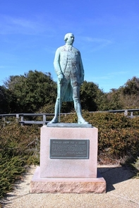 Admiral de Grasse StatueLocated near overlook at Cape Henry