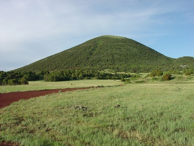 Capulin Volcano-Best Example of a Cinder Cone in North AmericaAlthough Capulin Mountain is considered no longer active, because its excellent condition, the cinder cone is considered one of the best and most accessible examples of a cinder cone in North America.