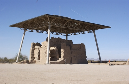Great HouseThe Great House at Casa Grande Ruins has existed for over 600 years.