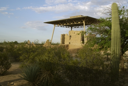 Great House in the Sonoran DesertThe Great House at Casa Grande Ruins is a sentinel of the desert.
