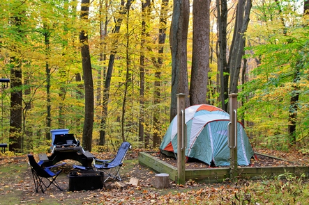 Owens Creek CampgroundOwens Creek Campground is a perfect place to rest after a day of hiking.