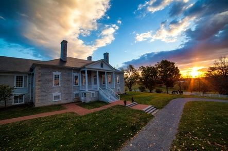 Sunrise over Belle Grove