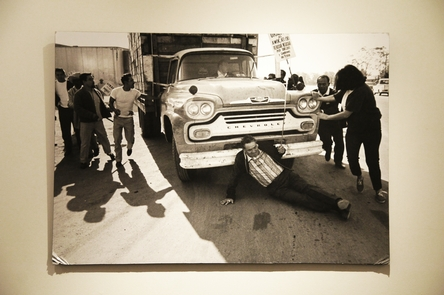Photo CollectionIn the exhibit hall, explore the history of the farmworker movement through photos taken during marches and strikes.