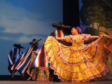 Theater PerformancesTake in a theater performance such as this ballet folklorico.