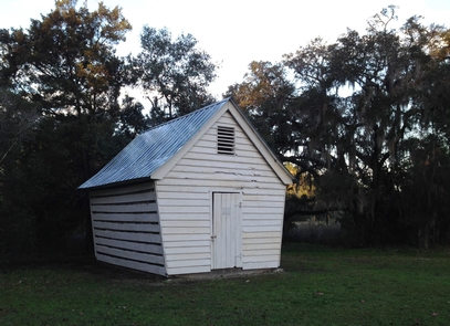 Corn CribSnee Farm, once owned by Charles Pinckney, was a working farm for over 200 years. This corn crib, built in 1910, is one of the few remaining structures of a bygone era.