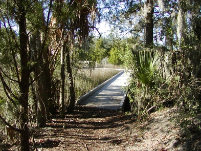 Boardwalk and MarshA .25 mile loop trail is a popular activity for visitors to enjoy the grounds and see points of cultural and natural interest along the way.
