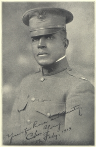 Colonel Charles YoungColonel Charles Young poses in class A's for a portrait