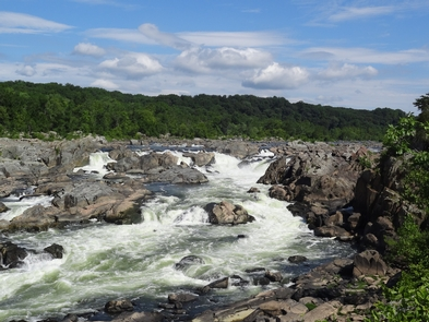 Great Falls of the PotomacThe area of Great Falls is one of the reasons for the C&O Canal needed to be built for boat traffic.