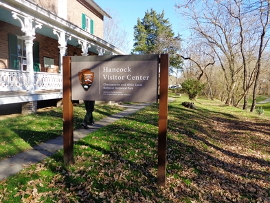 Hancock Visitor Center (Bowles House)One of seven Park visitor centers, the Bowles House sits along an empty canal bed in Hancock.