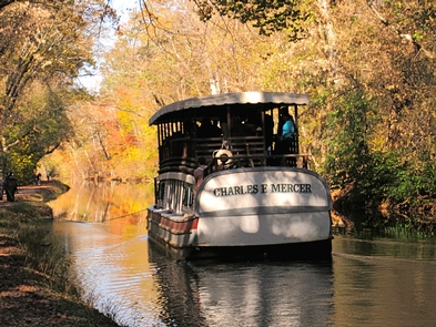 Charles F. Mercer Replica Canal BoatMule-drawn canal boat rides are offered at Great Falls Tavern, April through October.