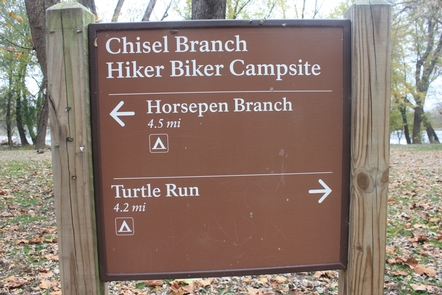 Chisel Branch Hiker-Biker Overnight (Hbo) Campsite