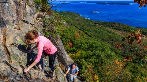 Climbing The PrecipiceWhether it's a stroll along Ocean Path or a difficult ascent up The Precipice, there are hiking trails for everyone!