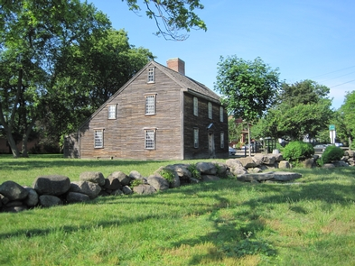 The Birthplace of John AdamsThe house where President John Adams was born in 1735.