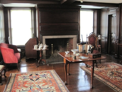 The Paneled RoomThe Paneled Room greets everyone who enters Old House at Peace field.