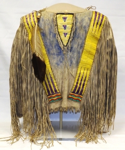 The James H. Cook collectionVisitors agree that this shirt decorated with quillwork and worn by Red Cloud of the Oglala Lakota is a priceless piece of history.