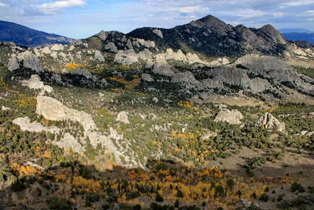 Grand Autumn View of City of RocksCity of Rocks offers sweeping vistas and awe-inspiring scenery