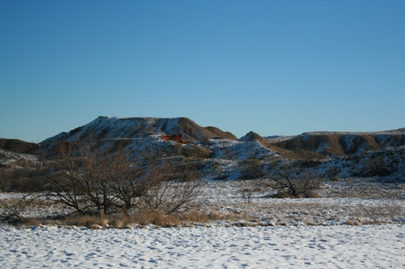 Snowy AlibatesEvery season hold special beauty at Alibates Flint Quarries National Monument.