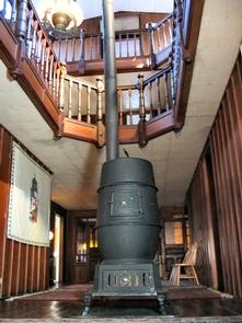 Main HallwayMain Hallway in Clara Barton's home.