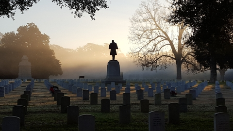 Andersonville National CemeteryThe site where the nearly 13,000 Union soldiers who died at Andersonville, designated as a National Cemetery in 1865, is still an active cemetery. Nearly 21,000 American military veterans rest here in honor.