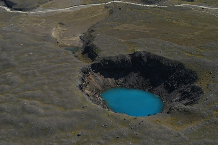 Maar Lake, Aniakchak Caldera