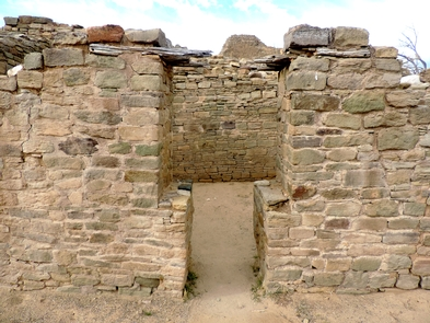 "T-shaped doorway in Aztec WestOriginal ""T-shaped"" doorway in Aztec West"