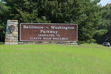 Baltimore Washington ParkwayThe parkway is dedicated for Gladys Noon Spellman
