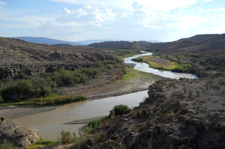 River VistaView of the Rio Grande River in Big Bend National Park.