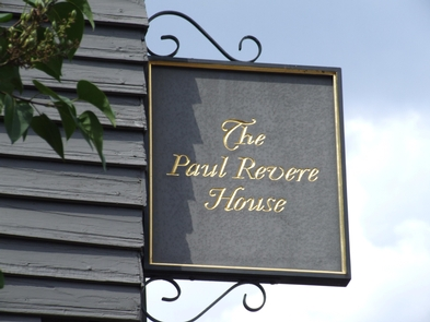 Paul Revere House SignPaul Revere House is a proud partner of Boston National Historical Park