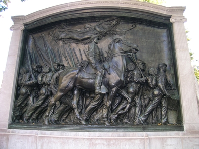 The Robert Gould Shaw MemorialThe Robert Gould Shaw Memorial honors Colonel Shaw and the Massachusetts 54th, the first African American regiment from the North to fight in the Civil War.
